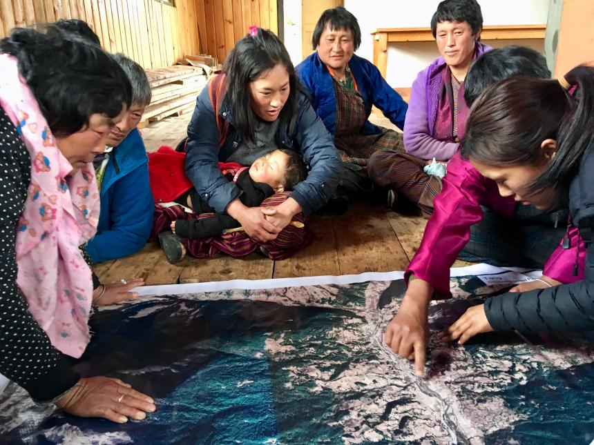 Tang Participatory Mapping